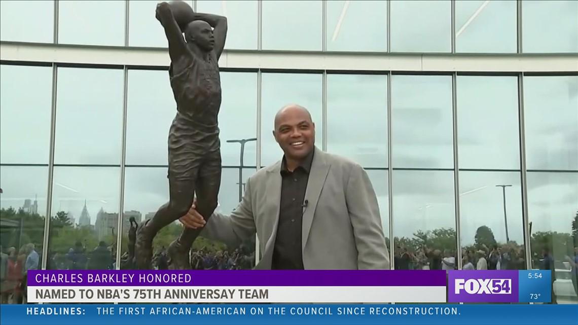 Charles Barkley named to NBA's 75th Anniversary Team