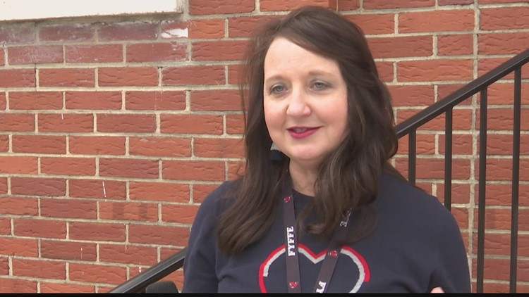 Mrs. Missy Mitchell at Fyffe  High School is the Valley's Top Teacher