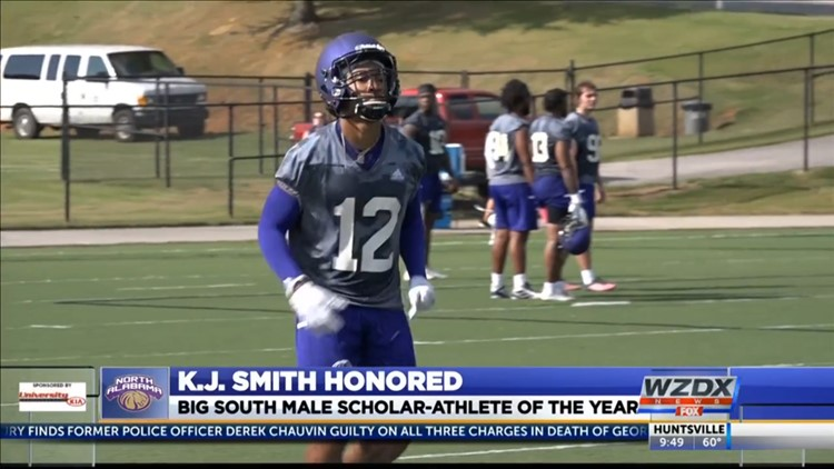 K.J. Smith named the Big South Conference Football Scholar Athlete of the Year (again)