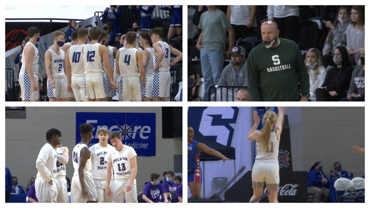 AHSAA State basketball semifinals - March 2nd, 2021