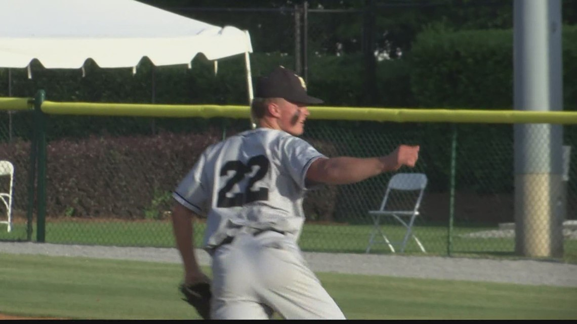 Phil Campbell beats Bayside in game 1 of the Class 3A Baseball Championship series