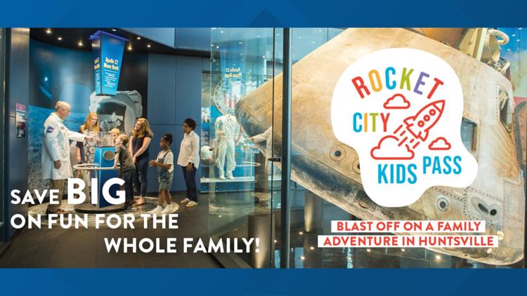 'Save big on fun' with the Rocket City Kids Pass