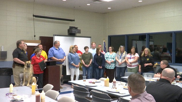Limestone County Sheriff's hosts luncheon to honor telecommunicators, dispatchers