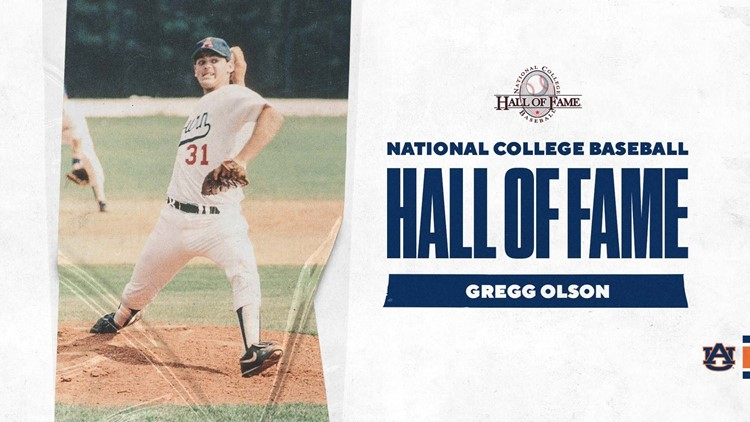 Gregg Olson to be inducted into National College Baseball Hall of Fame