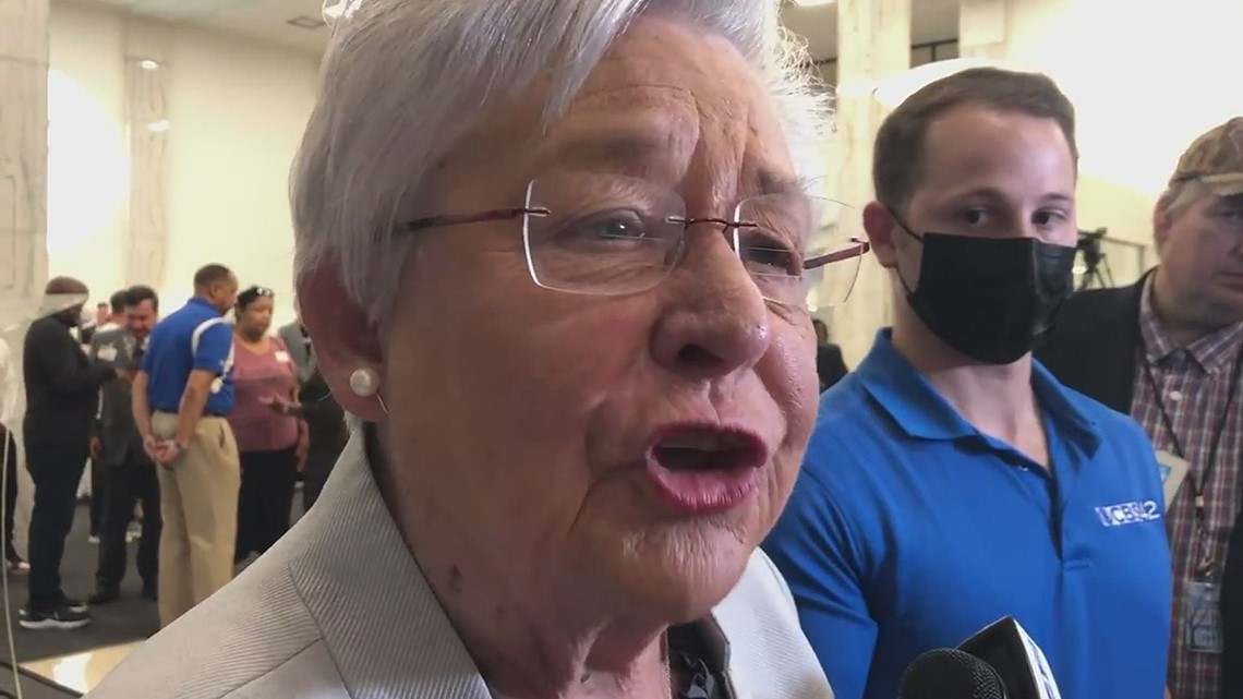 Alabama Gov. Kay Ivey: We know what it takes to get it done. You get a shot in your arm.