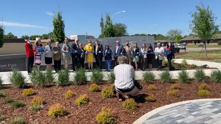 New park opens in Downtown Huntsville, more artwork installations on the way