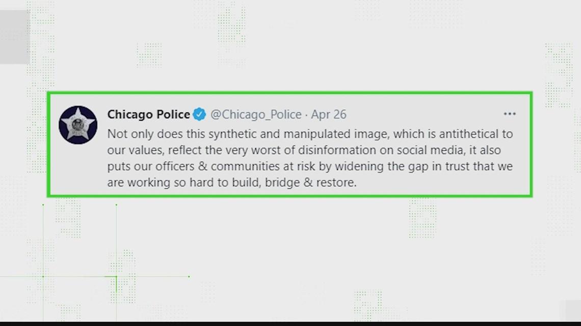 No, Chicago police did not tweet 'We are all Derek Chauvin'
