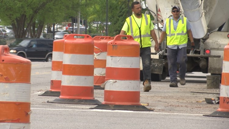 Move over, slow down, save lives. That's the message during National Work Zone Awareness Week.