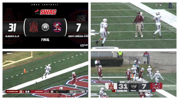 Alabama A&M defeats SC State, 31-7 in spring opener (Highlights)