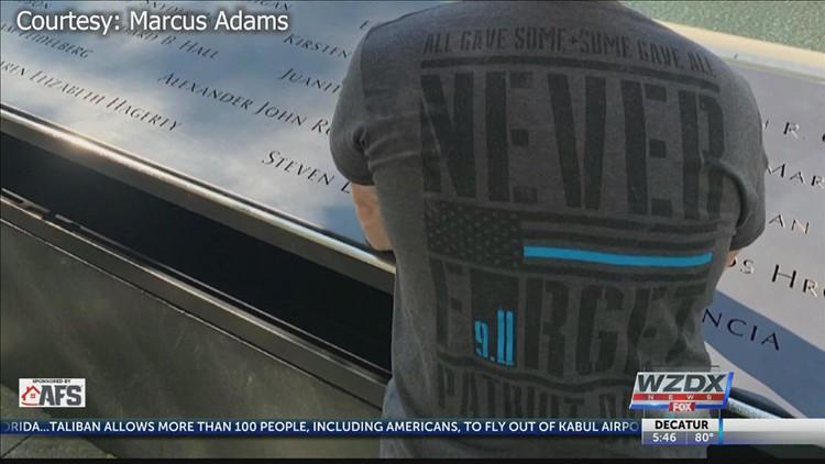 Sgt. Marcus Adams, September 2021 Valley's First Responder