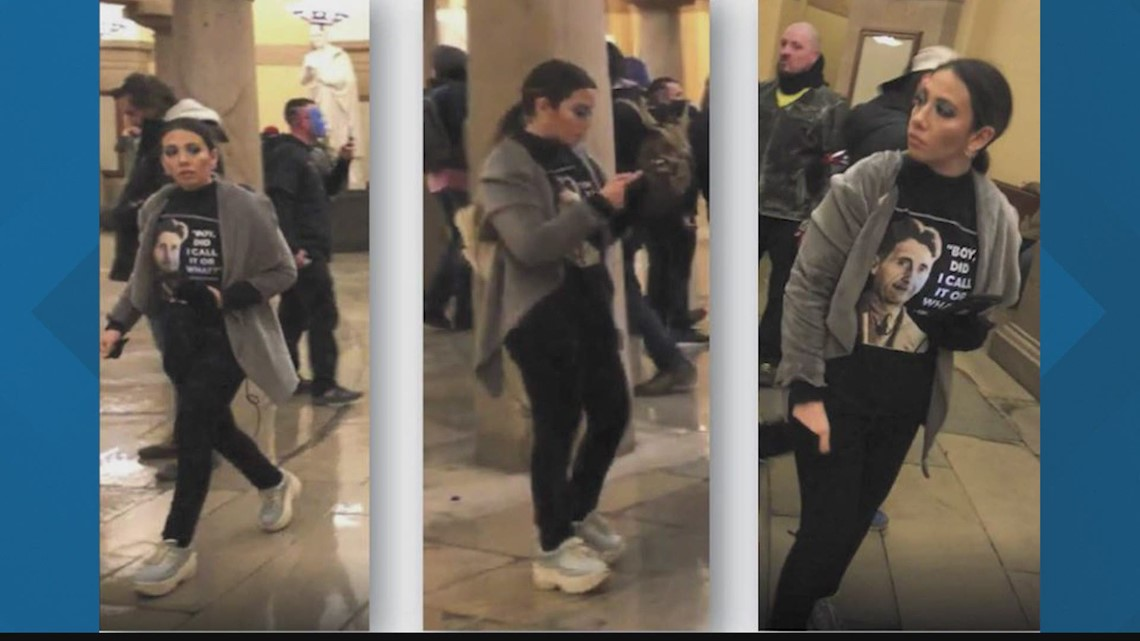 California woman arrested in Huntsville, Alabama, in connection to Jan. 6 US Capitol riot