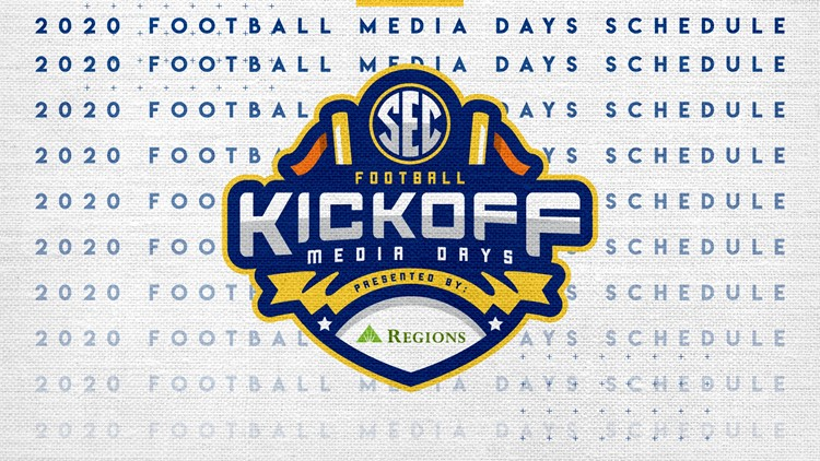 SEC announces schedule for 2020 Football Media Days