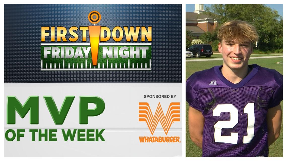 Ryan Turner First Down Friday Night MVP of Week 1