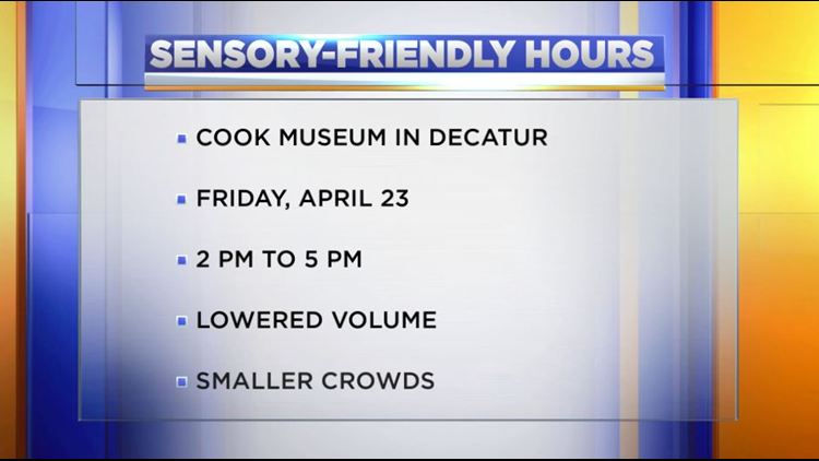 Sensory-friendly hours offered at local museum
