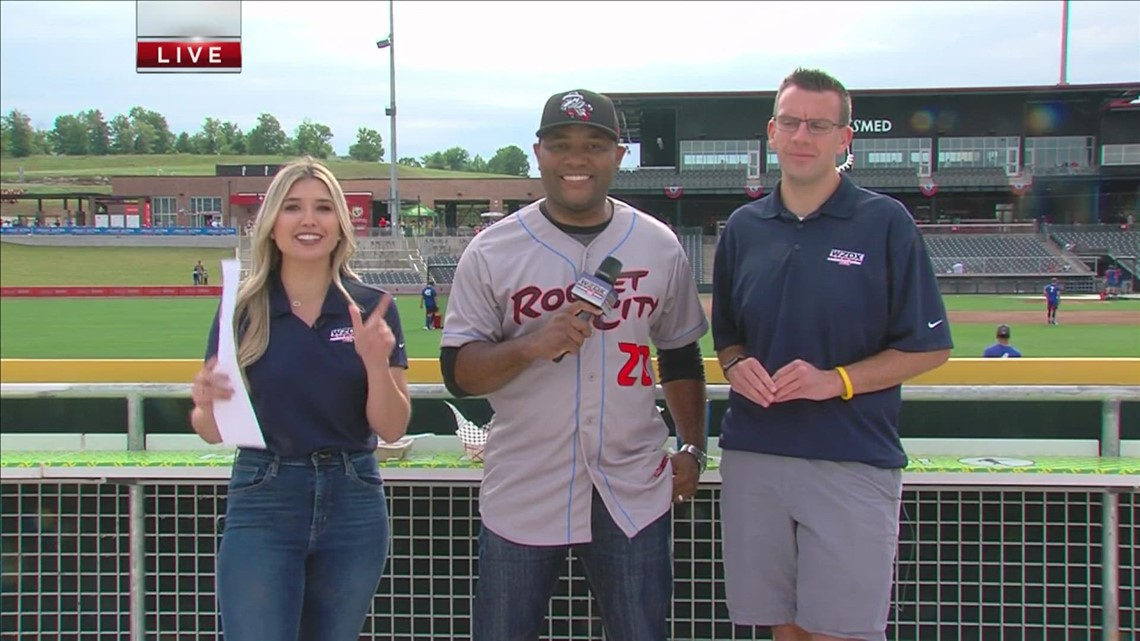 Watch: Rocket City Trash Pandas Home Opener Part One