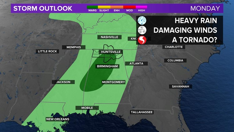 Two Rounds of Severe Weather Possible This Week