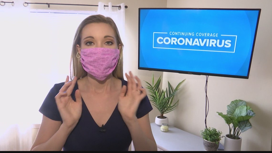 Continue to wear a mask even when outdoors, doctors say