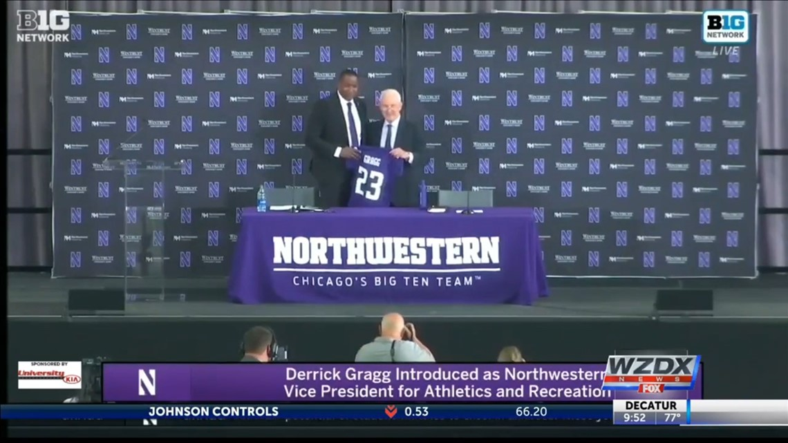 Northwestern hires Lee High School alumnus Dr. Derrick Gragg as next Athletic Director