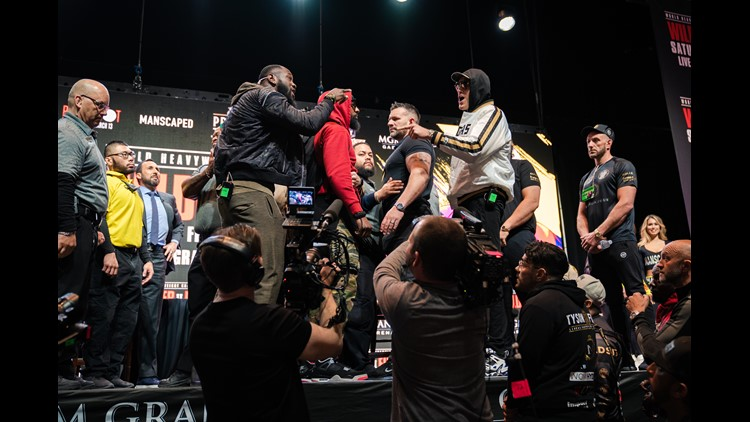 NSAC bans Deontay Wilder-Tyson Fury faceoff after weigh-in