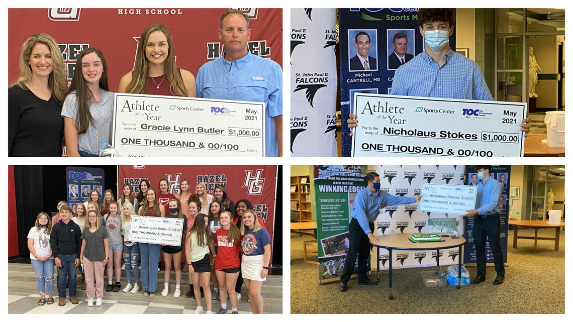 Butler & Stokes named Athletes of the Year by TOC Sports & Huntsville Hospital