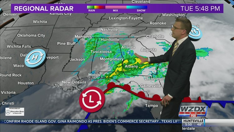 Rain Ends and Quieter Pattern