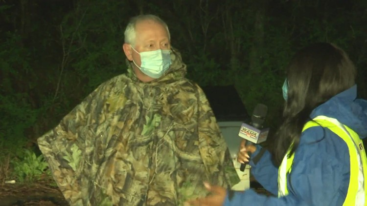 Severe Weather: Crews work to remove mudslide in Fort Payne