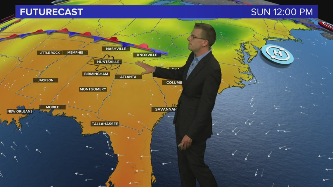 Weather Forecast Friday, May 14, 2021