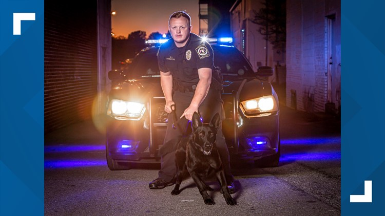 K-9 Officer Jordan Shelton, The Valley's First Responder for Dec. 2020