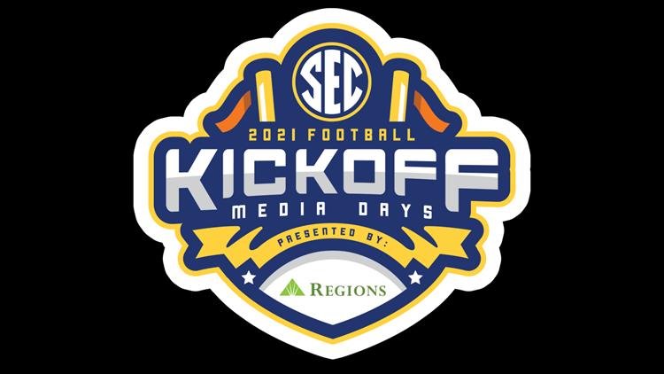 2021 SEC Football Media Days' attendees announced