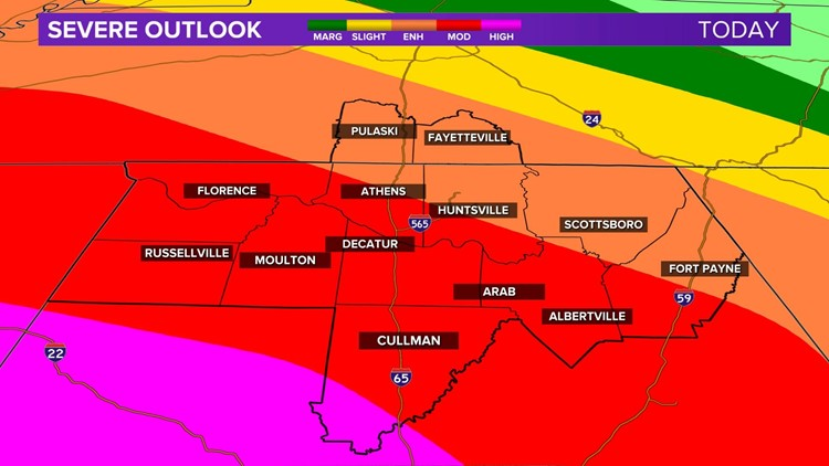 Update on Severe Weather Threat