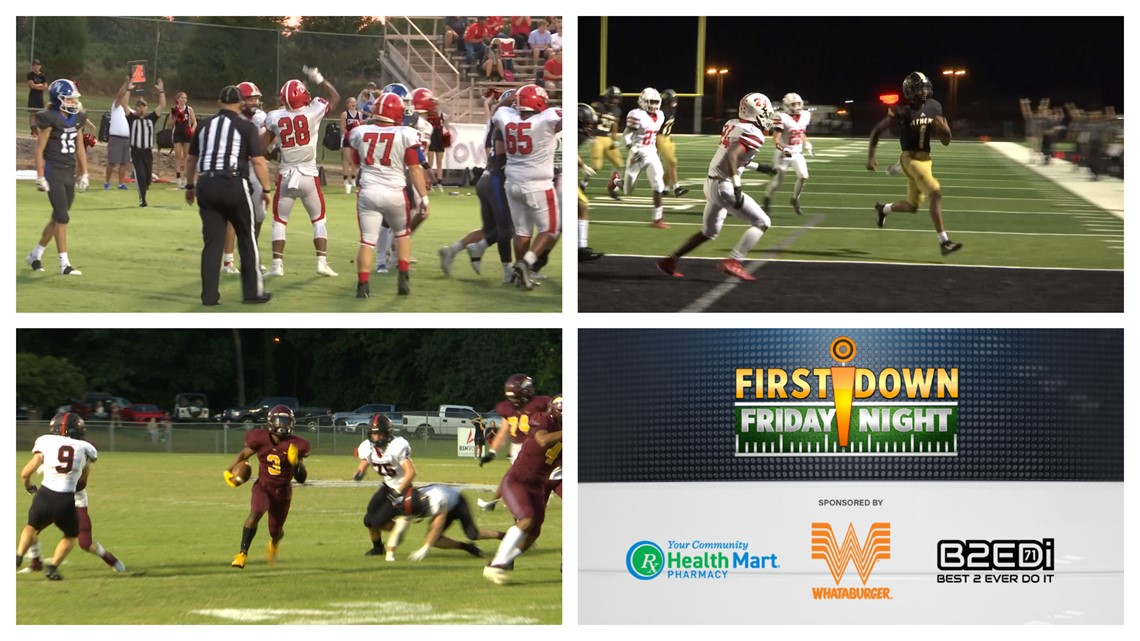 First Down Friday Night Week Three - Sept. 10th, 2021