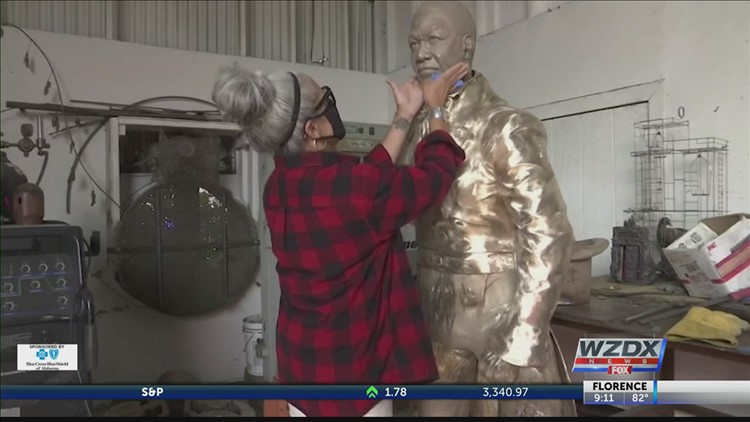 Sculptor honors black leaders, brings up what will replace Confederate statues