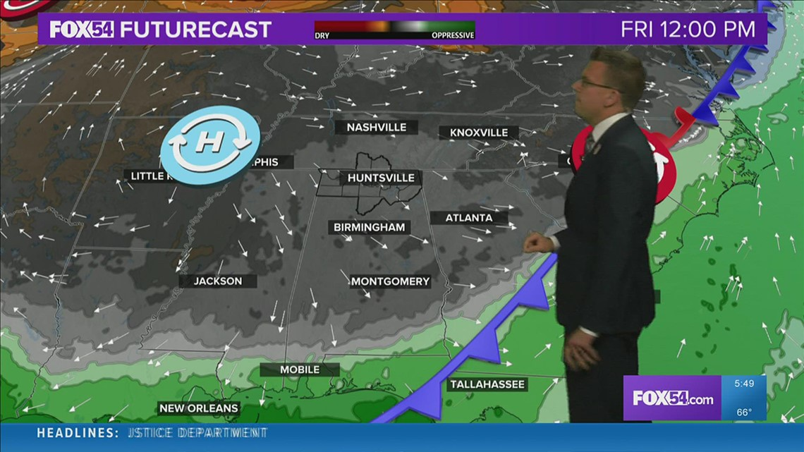 Cold Front Brings A Great Friday
