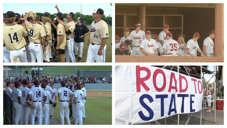 AHSAA Baseball semifinals May 13th, 2021 (Highlights)