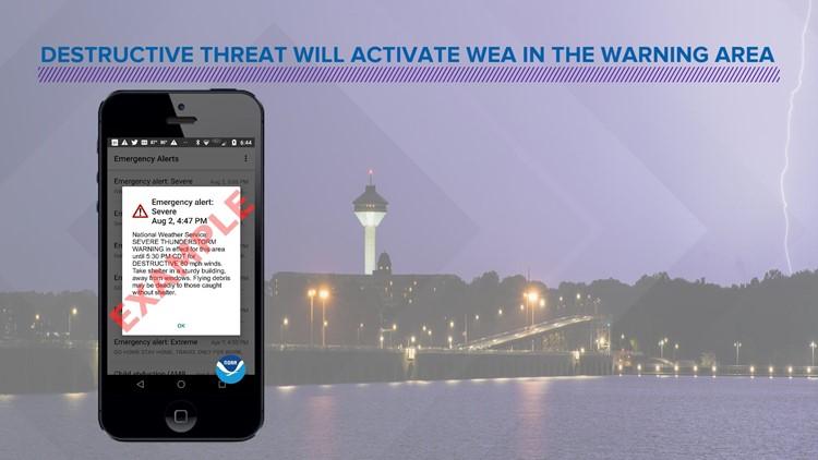 New 'Destructive' severe thunderstorm warning will trigger WEA on mobile phones