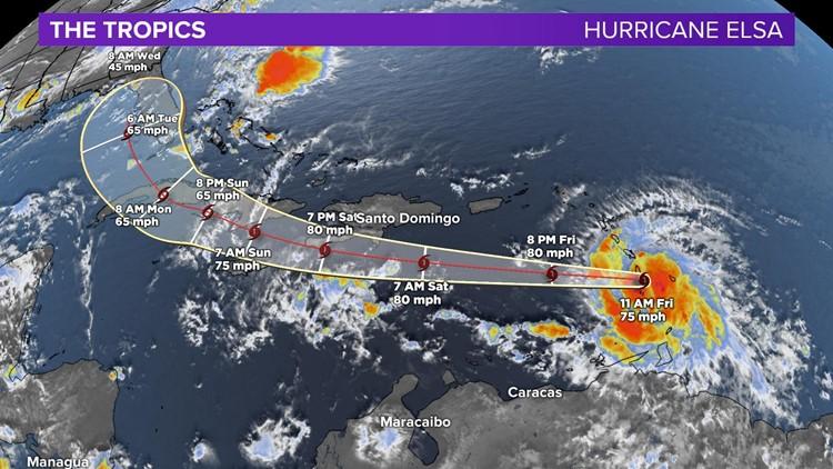 Hurricane Elsa Becomes First Hurricane of the 2021 Atlantic Hurricane Season