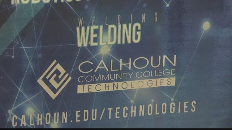 Calhoun Community College creates scholarship for skilled labor programs
