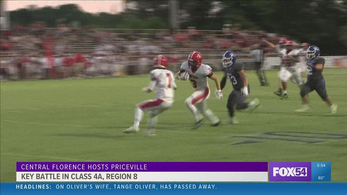 First Down Friday Night Varsity Game of the Week: Florence vs. Priceville