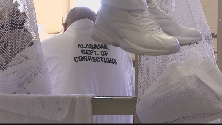 Alabama lawmakers weigh using virus funds to build prisons