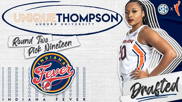 Unique Thompson selected by Indiana Fever in WNBA Draft