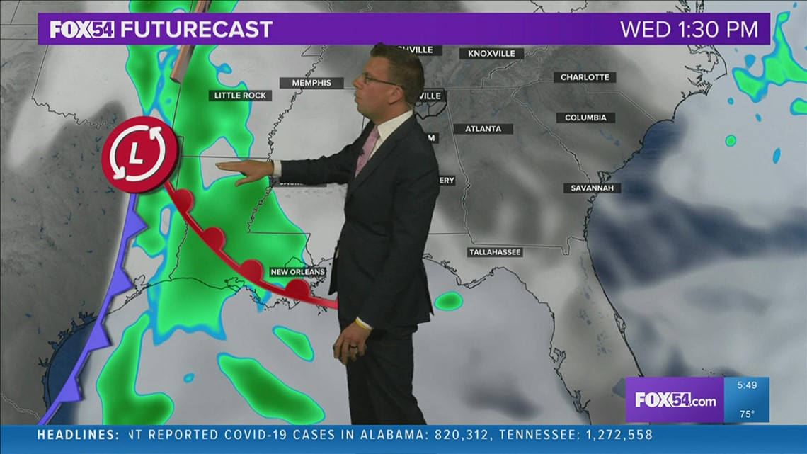 Another Cold Front Brings More Rain