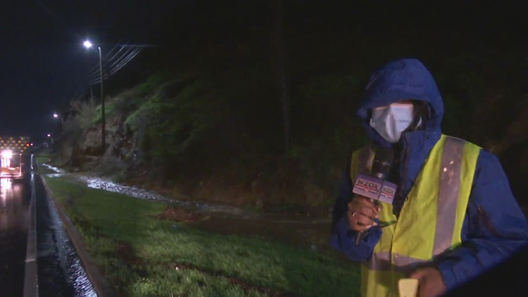 Severe Weather: Extreme amount of water causes mudslide in Fort Payne