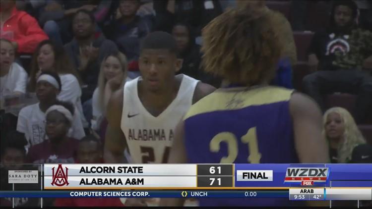 Alabama A&M beats Alcorn State 71-61 (Highlights)