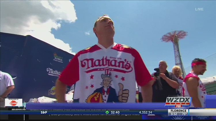 Joey Chestnut sets new record at 2021 hot dog race