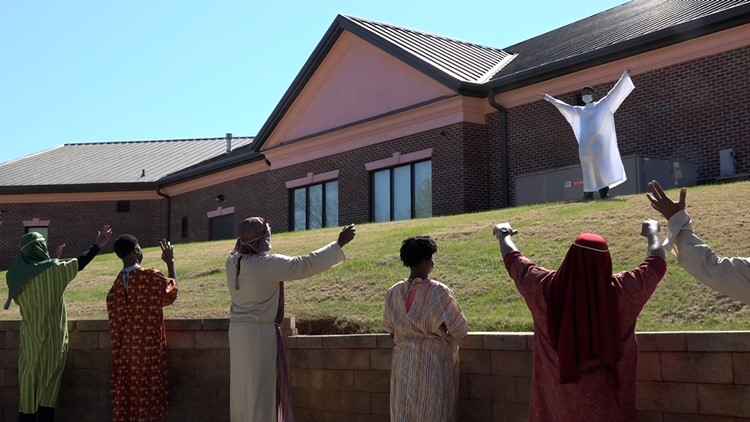 Local church plays it safe while telling the story of Easter