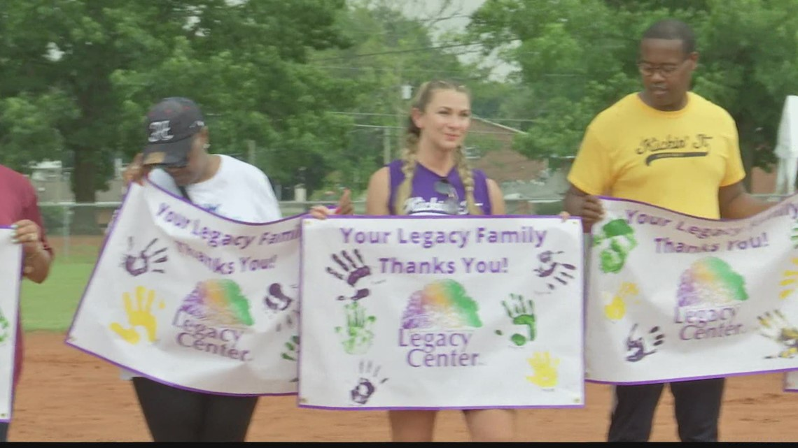 The Legacy Center annual charity kickball tournament 2021