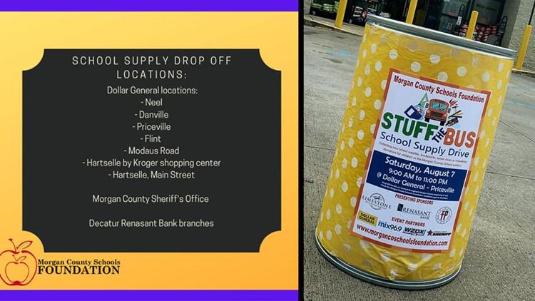 Help us Stuff the Bus for Morgan County Schools!