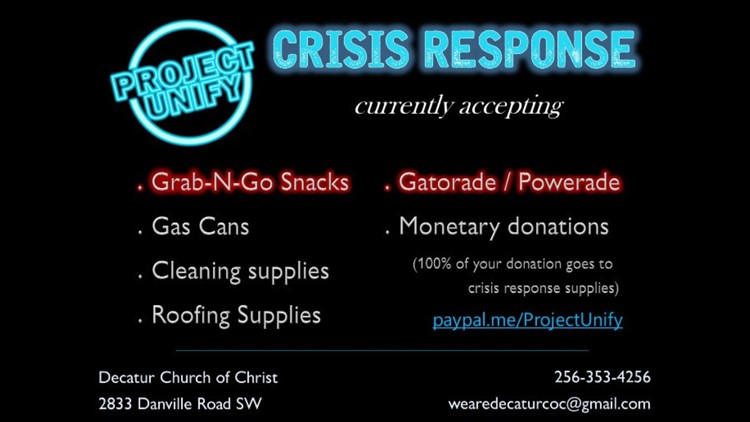 Priceville Church of Christ takes relief supplies to Ida victims