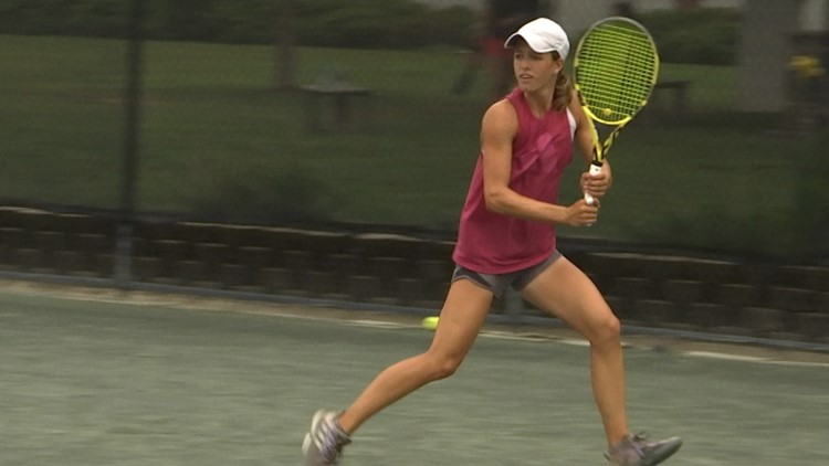Final day of USTA Girls' Clay Court Championships