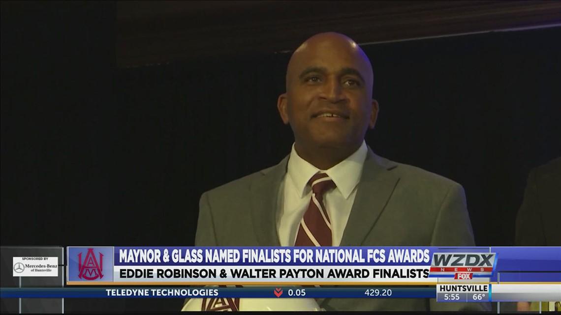 Glass & Maynor named finalists for Walter Payton &Eddie Robinson Awards